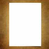 Blank note paper on old board background Stock Photos