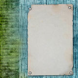 Blank note paper on textured background Stock Photos