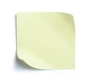 Blank note paper Stock Photos