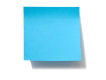 Blank note Stock Image