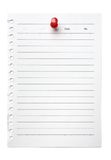 Blank Note to-do list Stock Photos