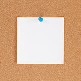 Blank note Royalty Free Stock Photos