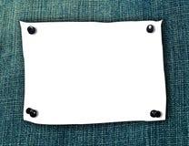 blank note3 Arkivbilder