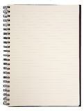 Blank Notebook Stock Photo