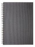 Blank Notebook. On a white background Royalty Free Stock Photo