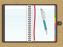 Blank notebook Royalty Free Stock Photos