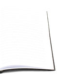 Blank notebook Stock Photography