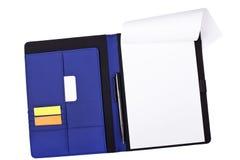 Blank notebook Stock Image