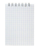 Blank Notebook. Highly detailed Blank Notebook. Ready for your message Stock Images