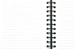 Blank of notebook royalty free stock photo