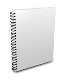 Blank notebook royalty free illustration