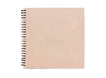 Blank Notebook. Royalty Free Stock Image