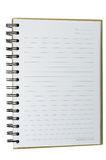 Blank notebook. Isolated on white background Royalty Free Stock Photography