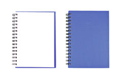 Blank NoteBook open two face Stock Photography