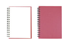 Blank NoteBook open two face royalty free stock photography