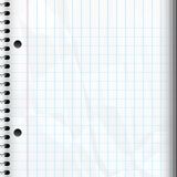 Blank notebook page Stock Images