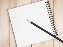 Blank notebook 9 Stock Photo