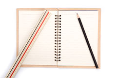 Blank notebook Royalty Free Stock Photo