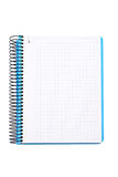 Blank notebook sheet Royalty Free Stock Photos