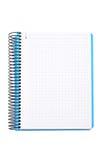 Blank notebook sheet Royalty Free Stock Photos
