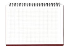 Blank Notebook Sheet Stock Images