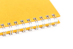 Blank notebook for text or background Royalty Free Stock Photo