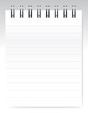 Blank notebook / vector Royalty Free Stock Photos