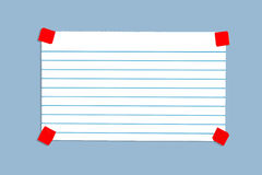 Blank notecard Stock Images