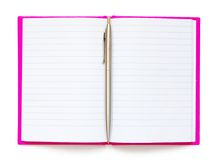 Blank notepad Stock Photos