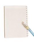 Blank notepad Stock Image
