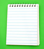 Blank Notepad Stock Image