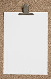 Blank Notepad. Royalty Free Stock Images