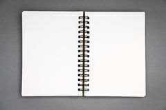 Blank notepad notebook Stock Photography