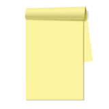 Blank notepad, notebook Royalty Free Stock Photography