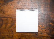 Blank notepad Royalty Free Stock Image