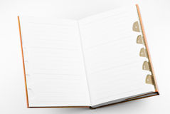 Blank Notepad Royalty Free Stock Image