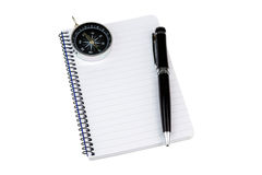 Blank notepad Stock Images