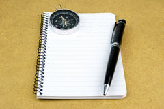 Blank notepad Royalty Free Stock Photo