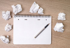 Blank notepad Royalty Free Stock Photos