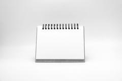 Blank notepad vintage style on withe background Stock Image