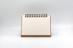 Blank notepad vintage style on withe background Royalty Free Stock Image