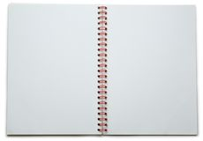 Blank notepad Royalty Free Stock Photography