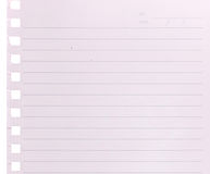 Blank notepaper background Stock Photography