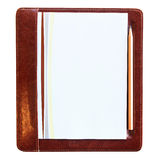 Blank notepaper Stock Photo