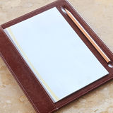 Blank notepaper Stock Photos
