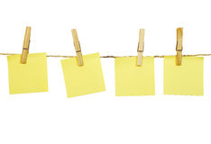 Blank notes Royalty Free Stock Images