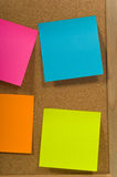 Blank notes Stock Photography