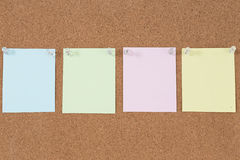 Blank notes Royalty Free Stock Photography