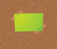 Blank notice concept Stock Image