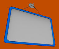 Blank Noticeboard Copy space Shows Display Space Royalty Free Stock Photos